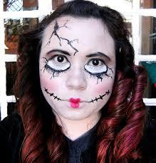 Creepy Doll Costume Beautiful Halloween Creepy Doll Makeup Contemporary Halloween