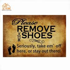 funny doormat memory home retro please remove your shoes non slip funny doormats