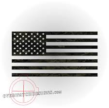 Reverse Color American Flag American Flag Decal Overwatch Designs
