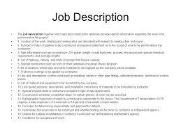 construction worker description