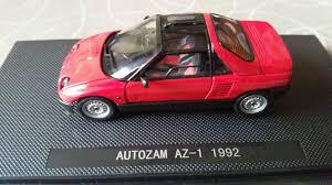 autozam az 1 ebbro mazda autozam az 1 1992 red model cars hobbydb