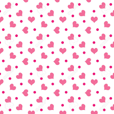 a background of valentine hearts with dots stock photo picture