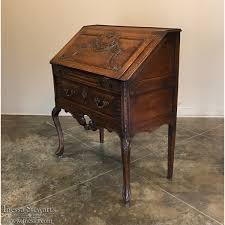 antique drop front desk antique country french baroque drop front desk secretaire inessa