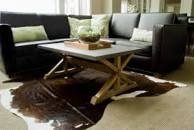 cowhide rug living room ideas cowhide rug living room ideas with choose your unique and images