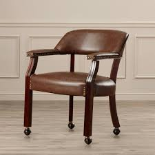 fine dining room chairs with arms and casters chair on design