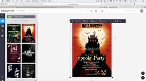How To Design A Halloween Poster Youtube