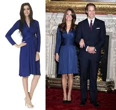 Kate Middleton Dresses Kate Middleton U0027s Famous Blue Issa Dress Is Now Available In