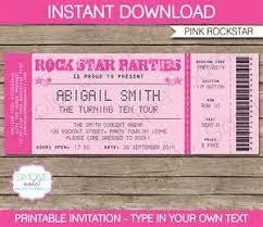 ticket template free download concert ticket invitations template invitation template