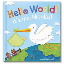 hello world personalized board book i see me book