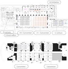 lecture hall floor plan 展示ホール施設概要 大阪南港 atcホール オフィシャルwebサイト