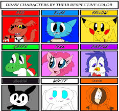 Colors Meme - gumball the cat by skunkyrainbow270 on deviantart