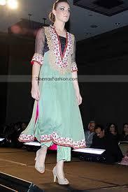 pakistani designer wear emerald green