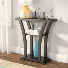 Low Console Table Low Height Console Table Wayfair