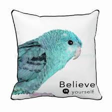 believe home decor in yourself parrot print custom birds style