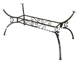 wrought iron table legs fish wrought iron table legs fish