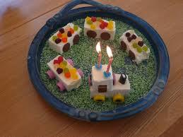 no bake train birthday cake clean sheets