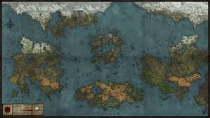 Fantasy World Maps by Tariel World Map By Levodoom On Deviantart