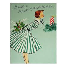 retro christmas cards vintage christmas cards zazzle