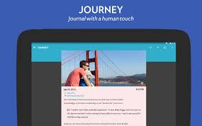 journey app makes keeping a diary cool again