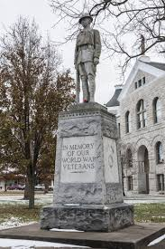 memorial monuments bates county doughboy memorial monuments missouri there