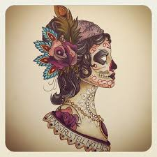 meaning sugar skull color