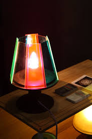Colored Glass Table Lamps New Designs Make Table Lamps And Floor Lamps More Desirable