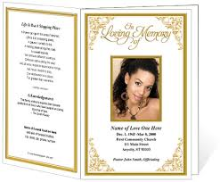 funeral phlet ideas 11 images of tribute page template boatsee