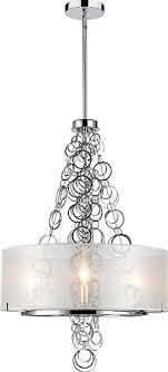 Types Of Chandeliers Styles Dezirae 3 Light Drum Chandelier Luxury Home Lighting