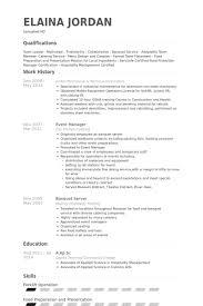 Sample Resume For Hotel Manager by Restaurant Kitchen Resume Restaurant Resume Restaurant Assistant