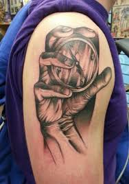 55 awesome clock shoulder tattoos