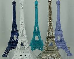 eiffel tower centerpieces eiffel tower centerpiece etsy