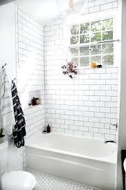 subway tile bathroom floor ideas bathroom reno with grey subway tile home bunch interior design