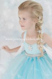 Elsa Halloween Costume Girls Queen Elsa Tutu Dress Costume Yoursparklebox Charlotte