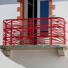 ringhiera metallica ringhiera in alluminio in rete metallica da esterno per