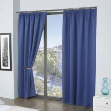 Purple Thermal Blackout Curtains by Cali Thermal Blackout Curtain Panels With Tape Top Header Six