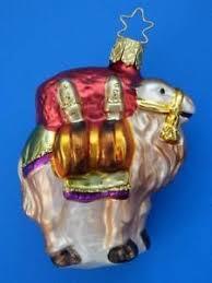 inge glas camel german blown glass christmas tree ornament ebay