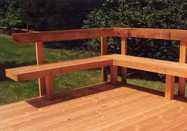 Build Deck Bench Seating Unique Ideas Decks With Benches Wood Furniture