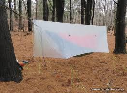 hammock gear standard cuben fiber tarp with doors section hikers