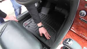 toyota avalon floor mats review of the weathertech front floor mats on a 2013 chrysler 300