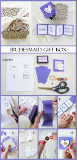bridesmaids invitation boxes question of bridesmaid invitation box with ring gift for