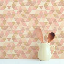 Removable by Triangles Removable Wallpaper Tile