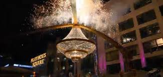 Cleveland Outdoor Chandelier Dazzle Cleveland Playhouse Square Chandelier Lights Up Fox8 Com