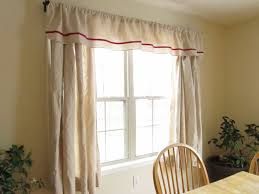 diy curtain idea for simple dining room comfort dining room