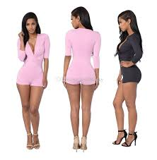 jumpsuit and rompers 2018 v neck jumpsuit clubwear rompers
