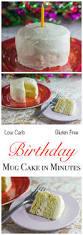 birthday mug cake minutes carb yum