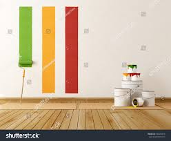select color swatch paint wall rendering stock illustration
