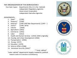 Define Cabinet Departments Bureaucracy Power Felt Everywhere Negative Connotation Not