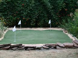 delightful make a putting green in the backyard part 5 how to