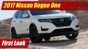 nissan rogue 2017 first look 2017 nissan rogue one star wars limited edition