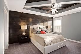 bedroom accent wall ideas fancy round glass jar cozy dark brown